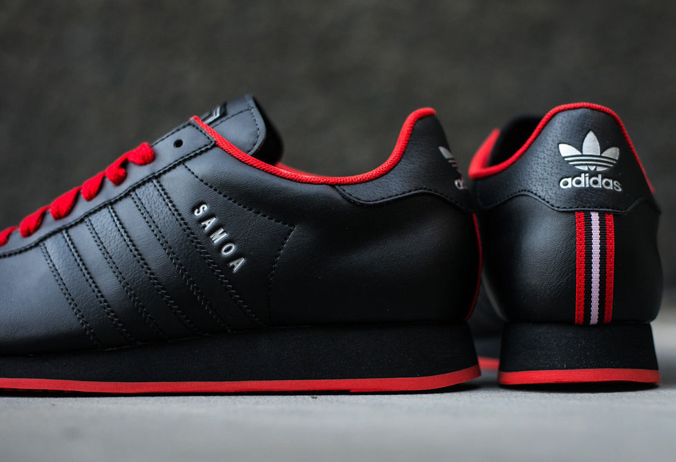 Adidas Samoa - Black/Poppy - LumberJac Lumberjack