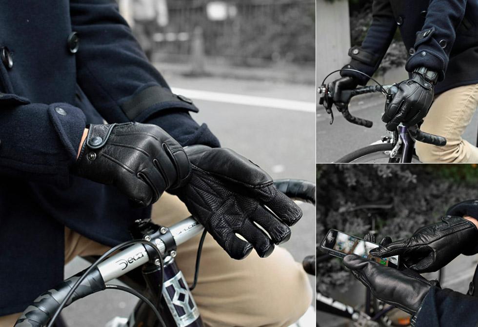 Leather Gloves by Narifari - LumberJac