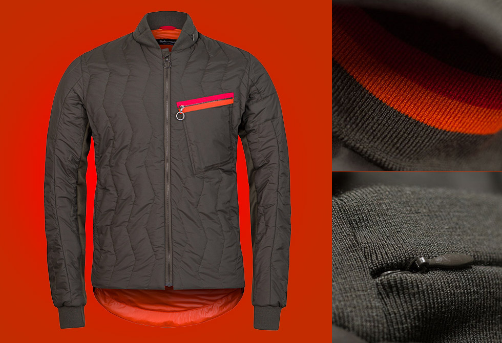 Rapha & Raeburn Quilted Jacket - LumberJac