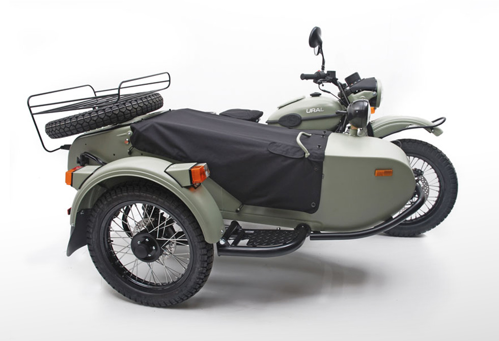 2014 Ural Gear Up Motorcycle - LumberJac
