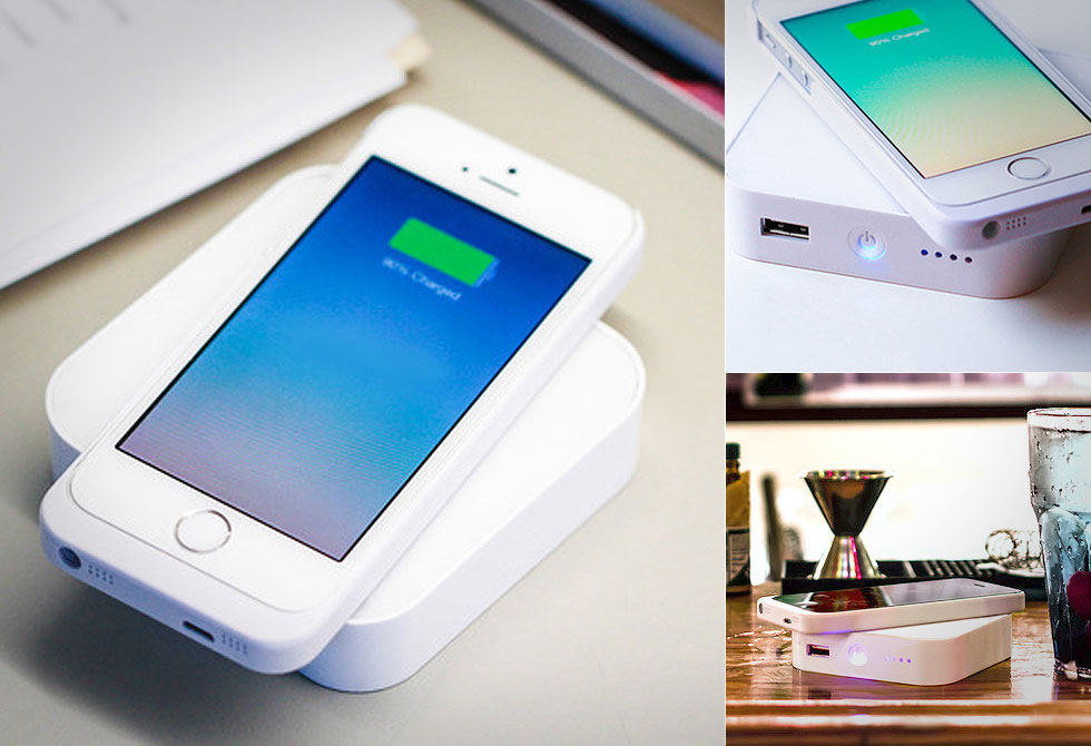 ARK Portable Wireless Charger - LumberJac