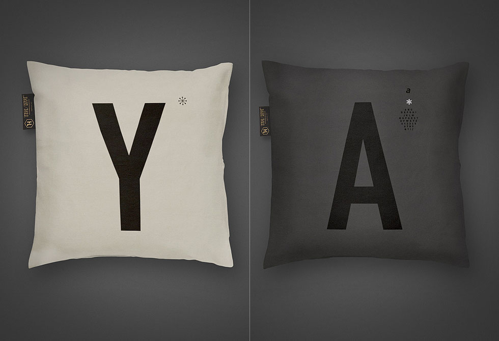 Type Cushion by Type Hype - LumberJac