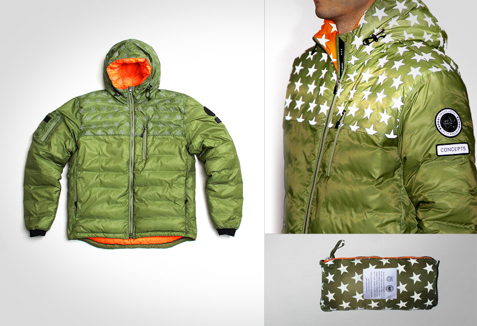 Canada Goose x Concepts MA-1 Lodge Hoody - LumberJac