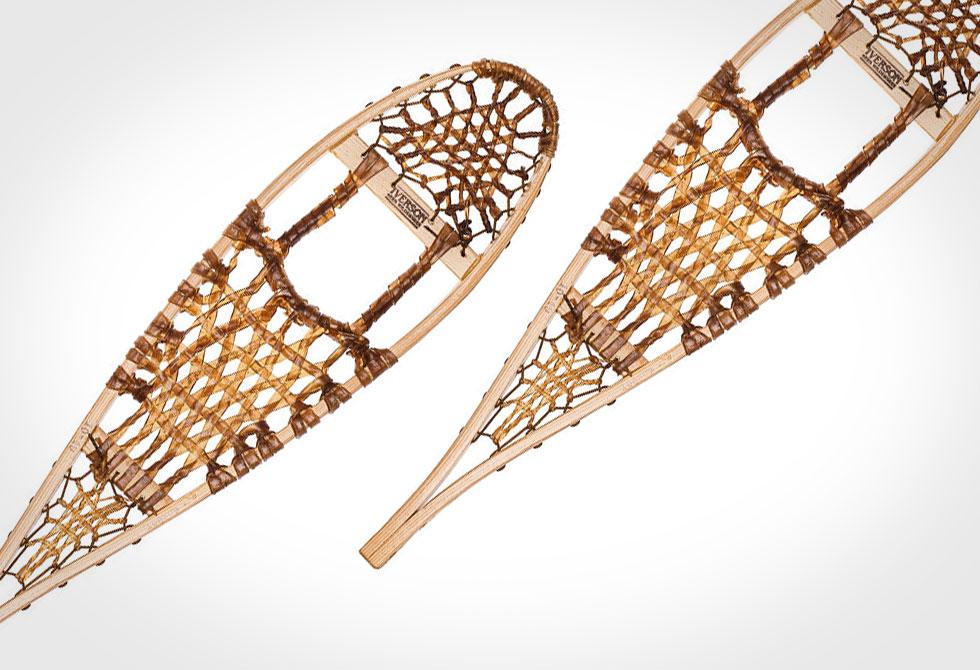 Iverson Wooden Beavertail Snowshoes - LumberJac