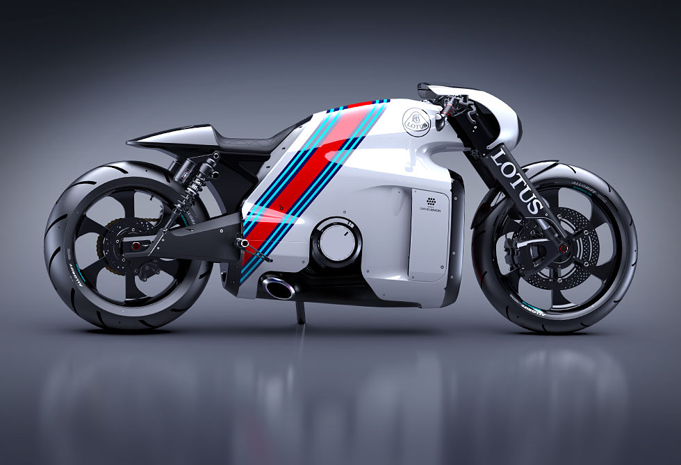 Lotus C-01 Superbike White - LumberJac