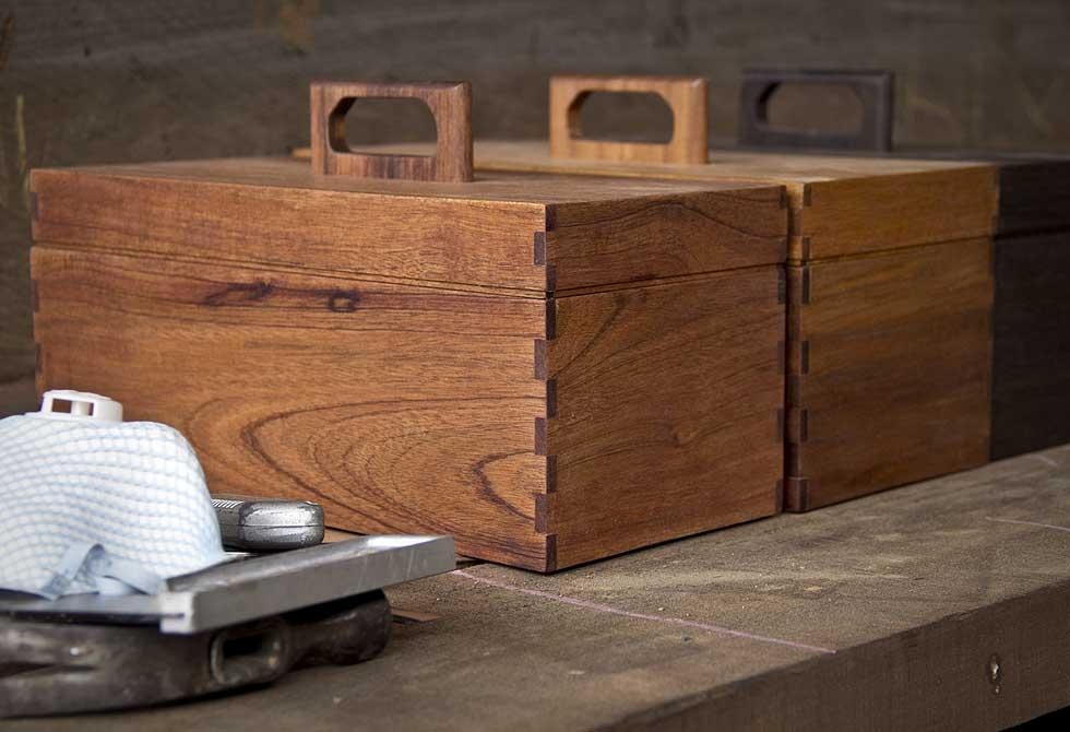 Abner Wooden Tool Box - LumberJac