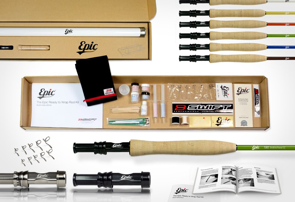 Epic REady to Wrap Rod Kit - LumberJac