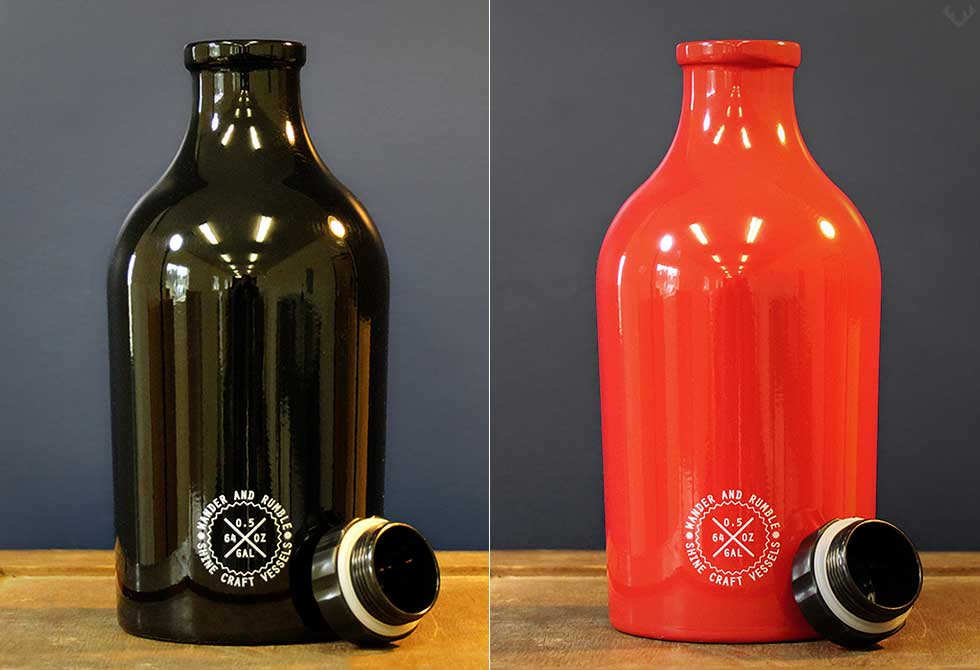 Shine Craft Vessel Growler - LumberJack