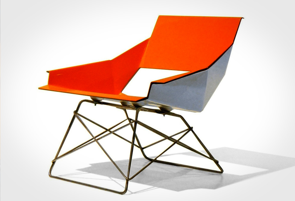 Markamoderna HSLM-F Lounge Chair - LumberJac