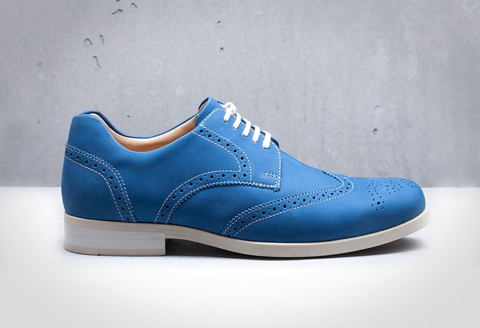 Weber-Schuh-Brogue-Nubuck-Shoes_blue - LumberJac