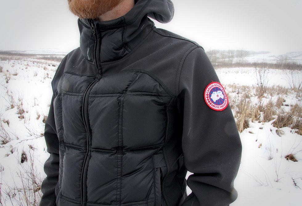 Canada Goose Hybridge Hoody black - LumberJac