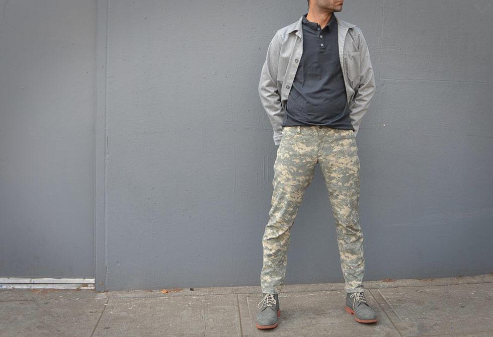 SWRVE_Blk Digi Camo Trousers - LumberJac