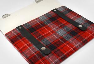Moose and Pine iPad Case Inside - LumberJac