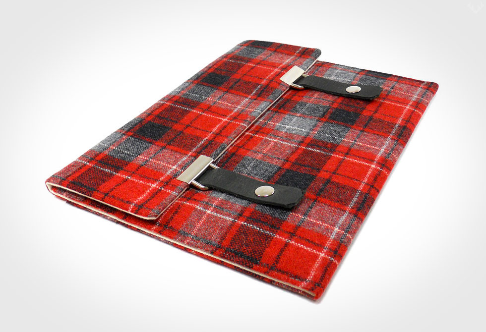 Moose and Pine iPad Case - LumberJac