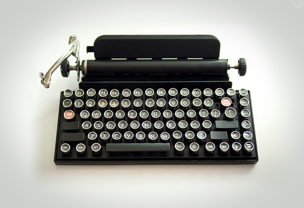 Qwerkywriter Keyboard 1 - LumberJac