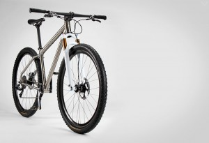 Mountain Titanium by Firefly Bicycles