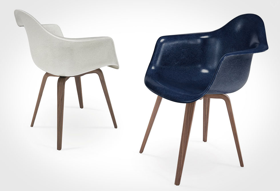 Take Refuge In A Classic Molded Case Study Chair. Originally Designed In  1948 By Ray And Charles Eames, The Iconic Molded Fiberglass Case Study Arm  Chair ...