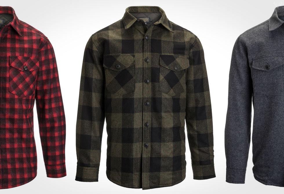 Pendleton-Quilted-CPO-Shirt-Jacket-LumberJac