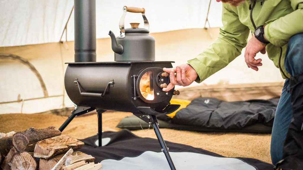 Frontier Plus Portable Wood Burning Stove LumberJac