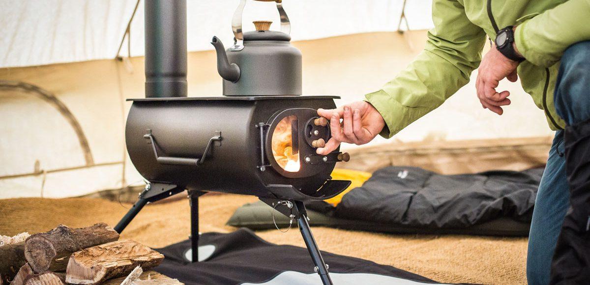 Frontier Plus Portable Wood Burning Stove LumberJac