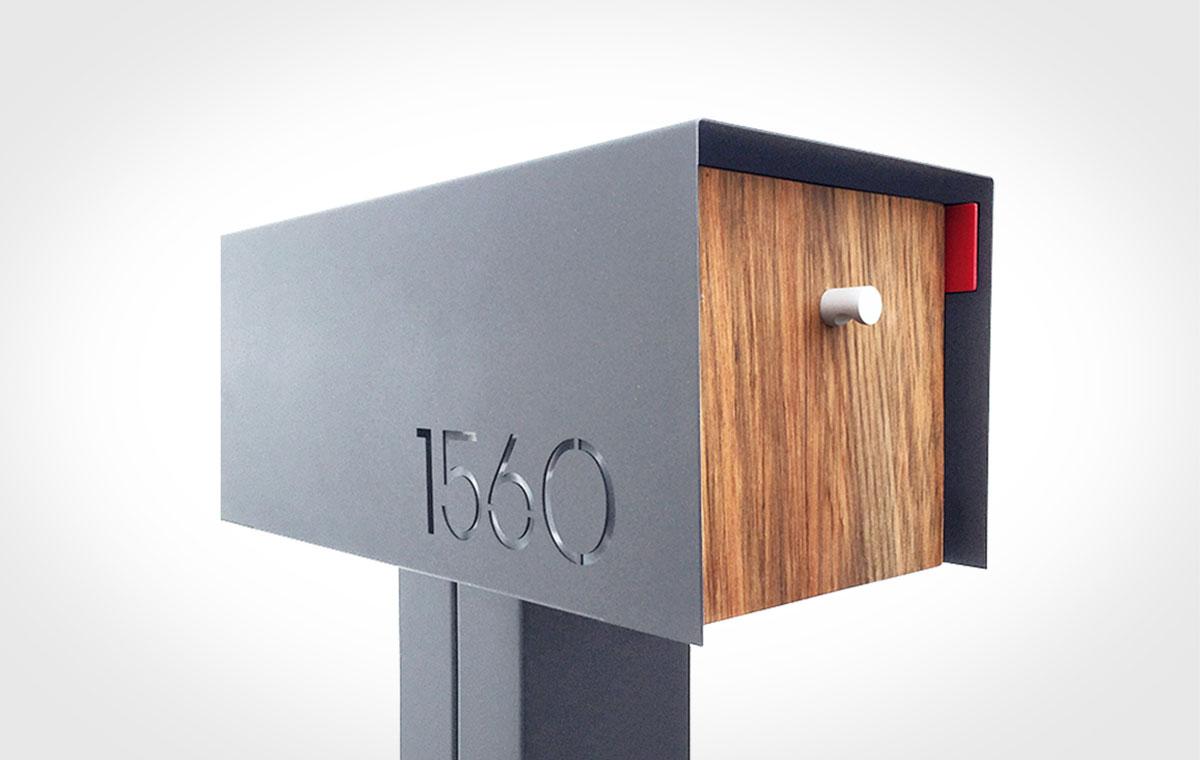 Deus Modern Mailbox Lumberjac