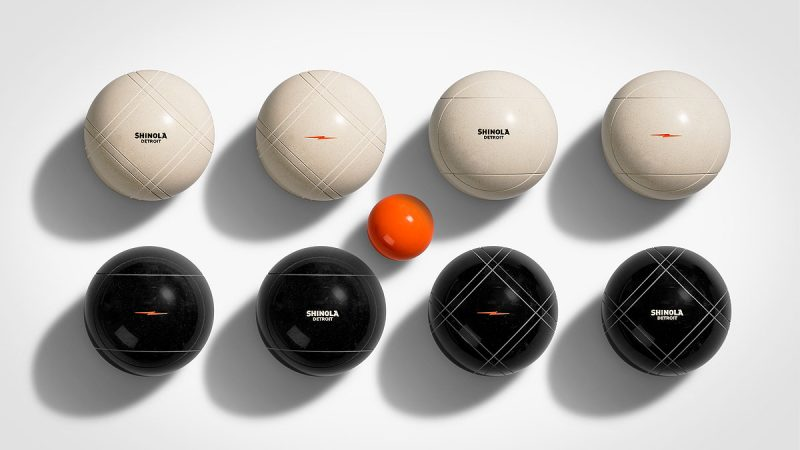 Shinola and St.Pierre Bocce Ball Set