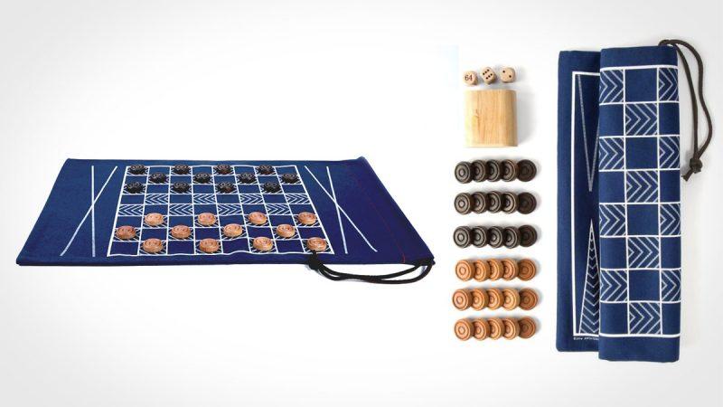 Studio Nicco Backgammon and Checkers Travel Bag