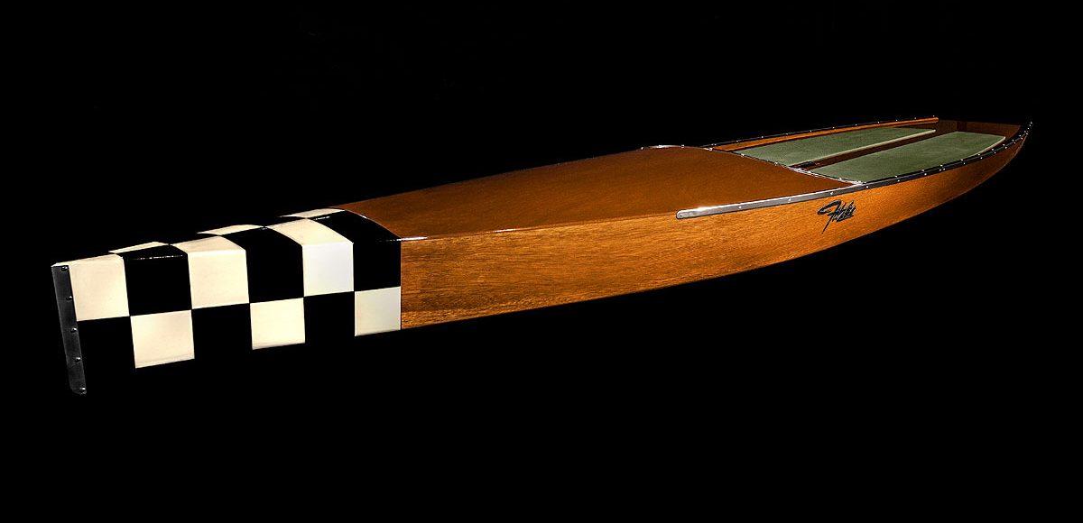 Fitzke Wood Paddleboard