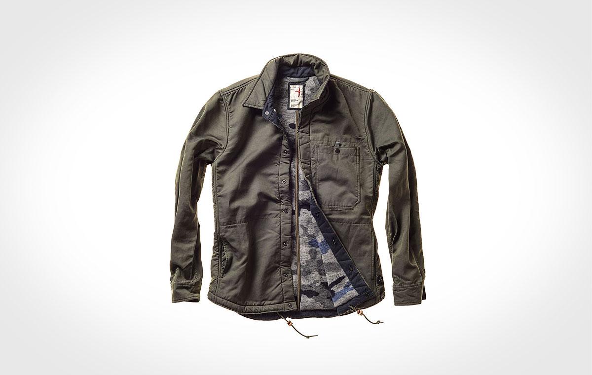 relwen waxed snap cpo jacket