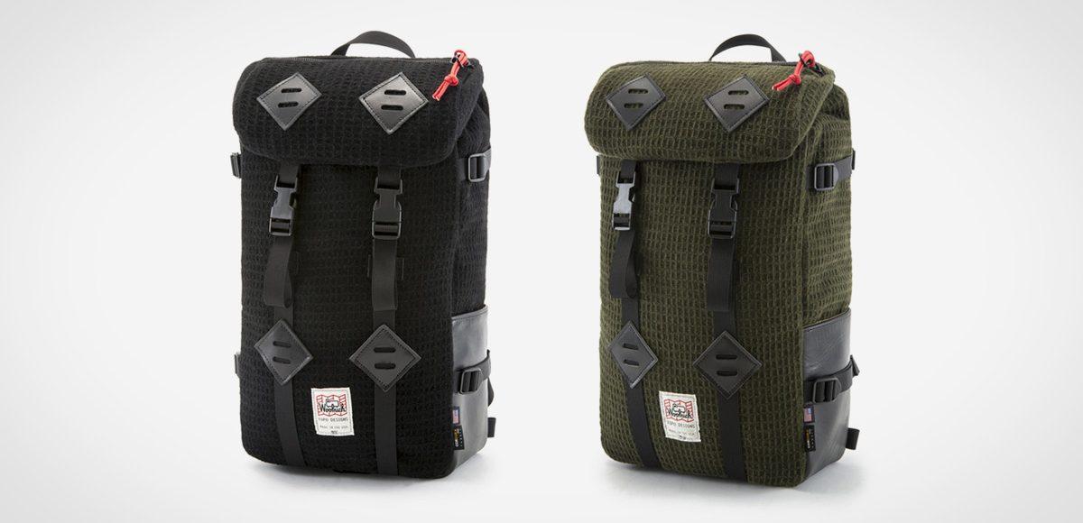 Topo Designs X Woolrich Klettersack LumberJac