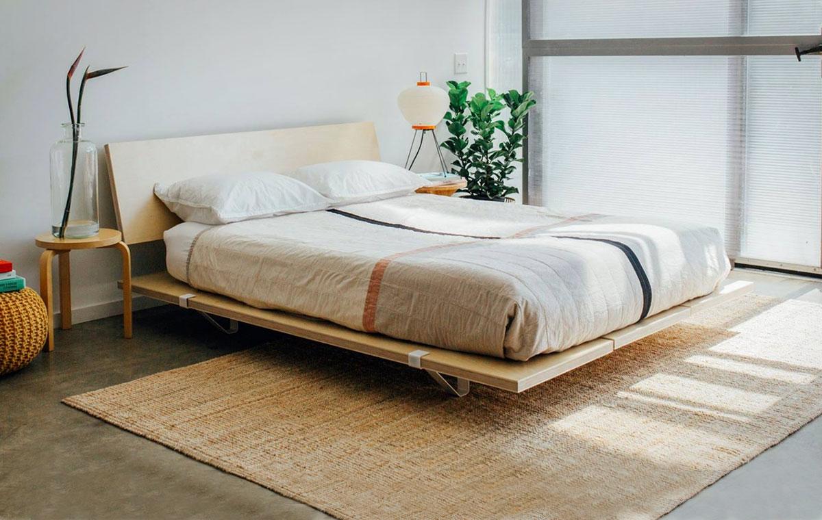The Floyd Platform Bed Lumberjac